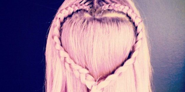 These Heart Braid Hairstyles Are Simply The Cutest
