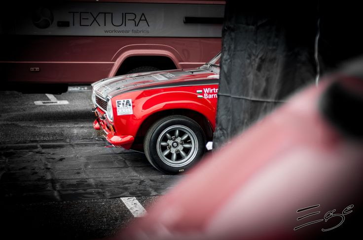 ford escort mk red rally tarmac