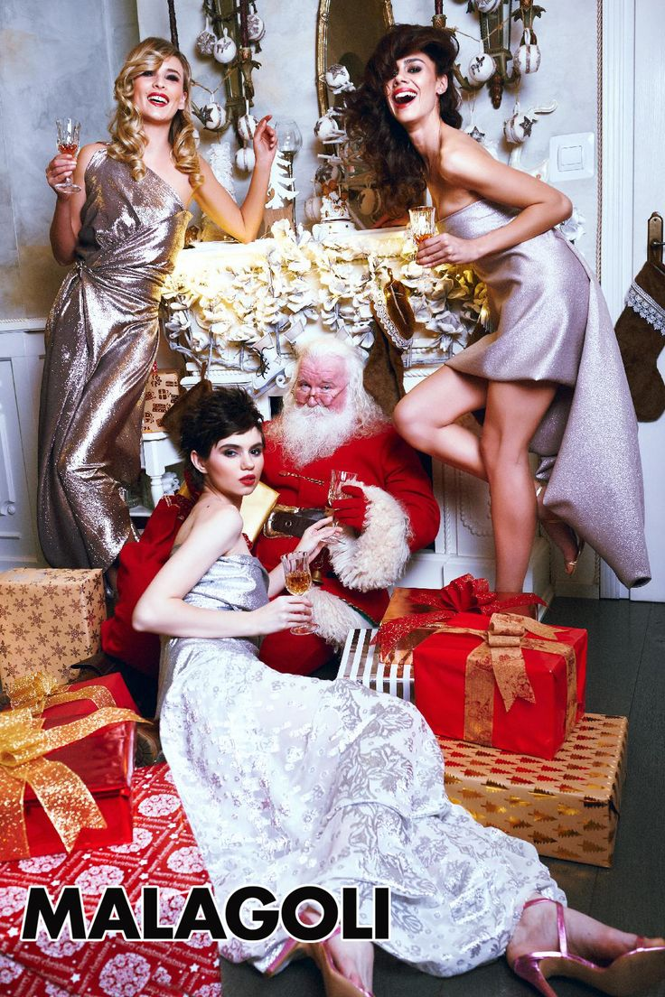 MALAGOLI wishes you and your loved ones HAPPY HOLIDAYS!  We thank our friends (Daniel Ilinca - idaniphotography - photo; Mirela Fazakas - Make-up Artist; Alina Maria Crisan - ACHA - hairstyle; Anca Crisan - styling designer; Aisii, Alexandra Urs, Bianca Tincau - models) and, of course, Santa Claus, who, although being very busy during this period, helped us immortalize a wonderful moment!