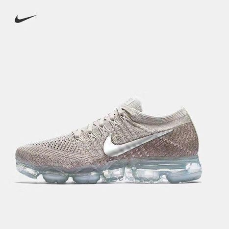 finest selection 29e1f c5aee Hot Nike Air VaporMax 2018 Flyknit Rose Gold Silver Tick (36-45) size