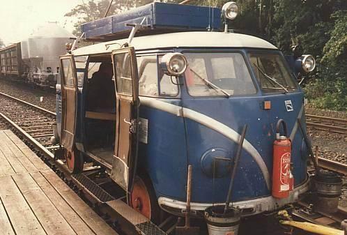 VW railway truck....