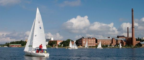 Vaasa Finland waterfront