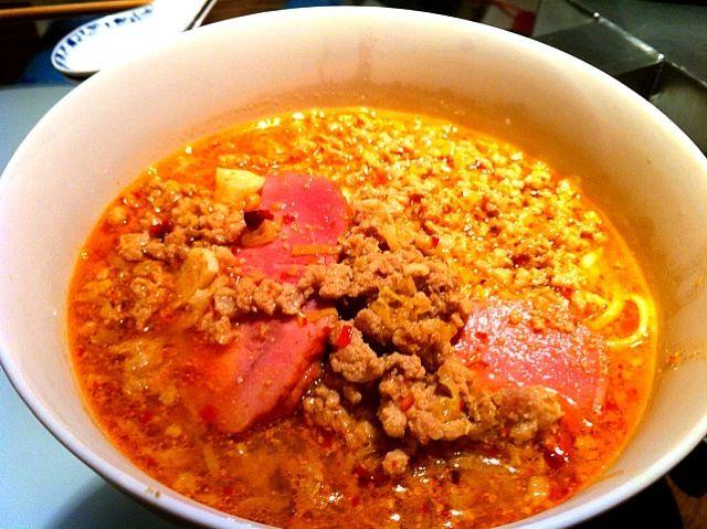 定番夜食 - 1件のもぐもぐ - 担々麺 by komei3