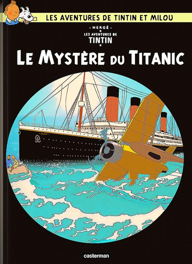 Les Aventures de Tintin - Album Imaginaire - Le Mystère du Titanic
