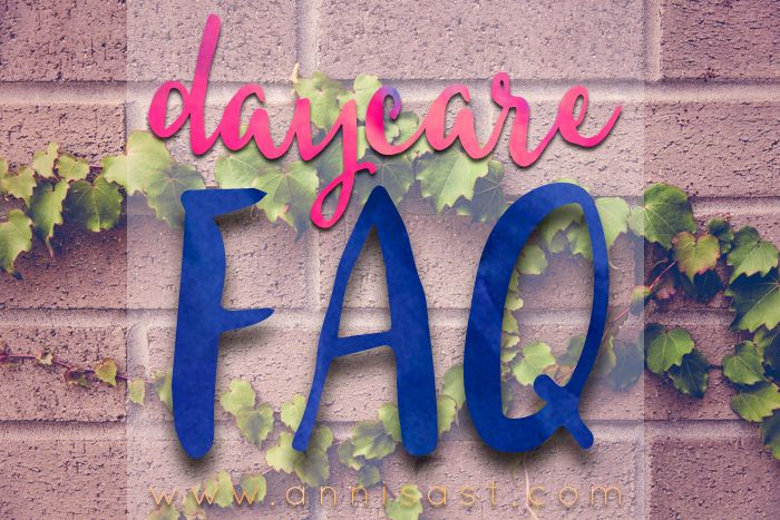 FAQ Tentang Daycare | annisast.com