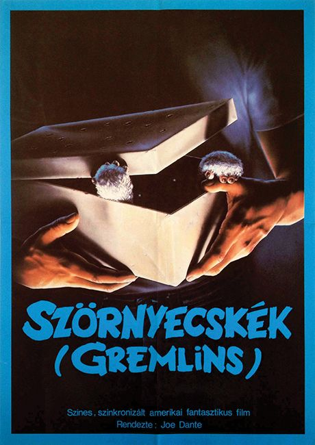 Gremlins (1984) - Get this poster at Budapest Poster Gallery's Auction: http://budapestposter.com/upload/angol_tanulm_kat_2014.pdf