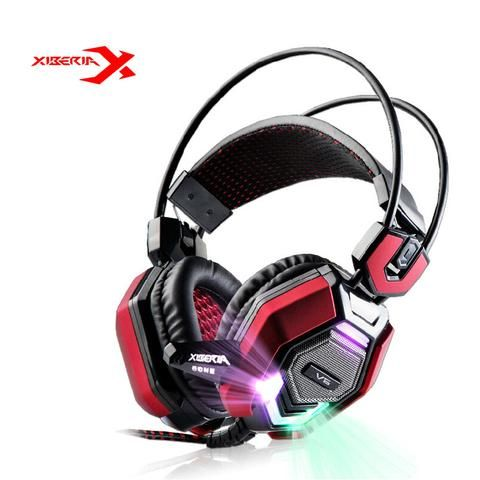 Features: 100% Brand Xiberia Xiberia V6 - Topper Gaming Headset Gaming Music Fans First Choice...