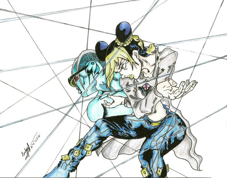 Speed draw Jolyne Kujo - Jojo's Bizzare Adventure  https://youtu.be/PD9zidx3wW8