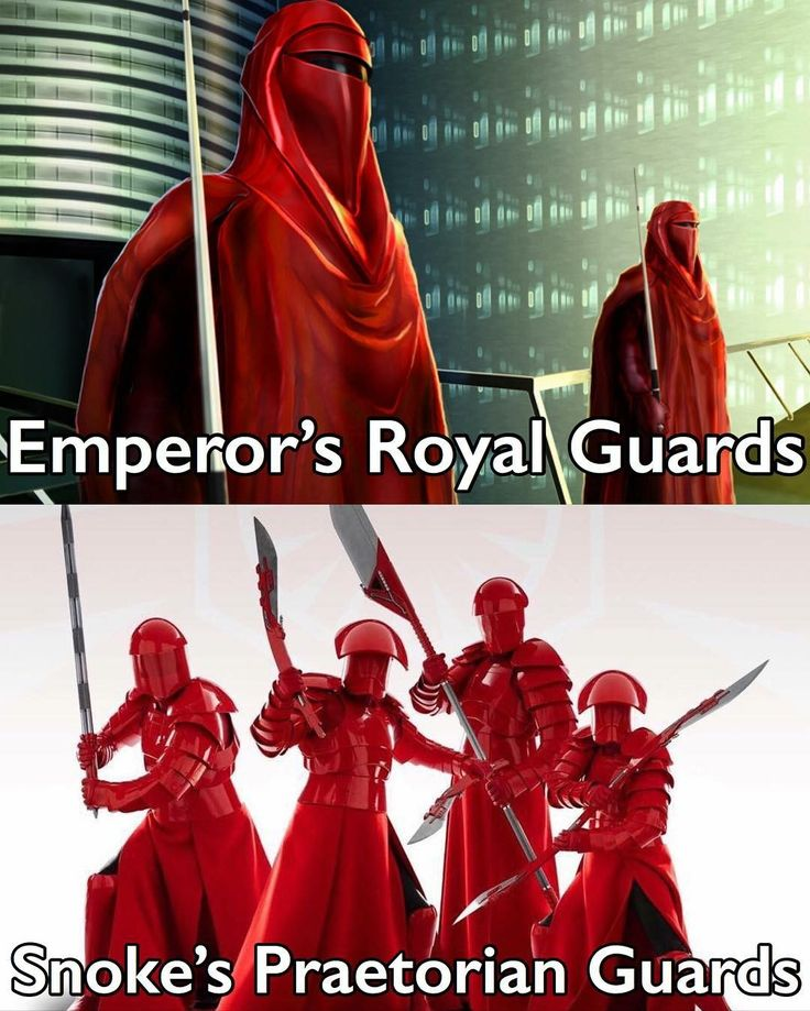 The Red Guards, how sad they look now. A reason why some things should not be changed.