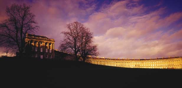 Bath England The Royal Crescent Hotel  the very best of the best...