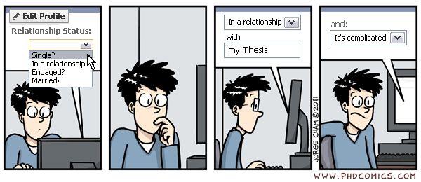 Phd comics dissertation writing