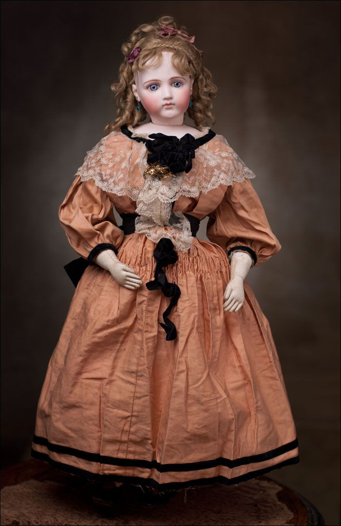 Fashion Doll, Emile Jumeau, 1875