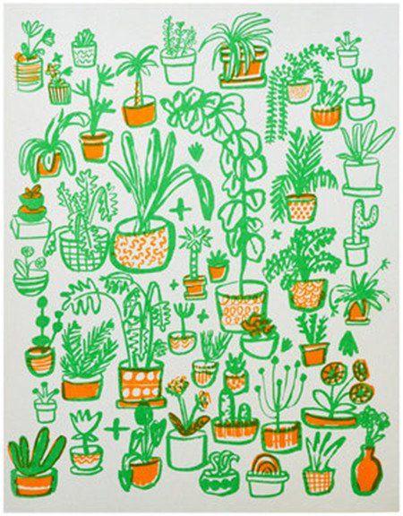Print - Plants