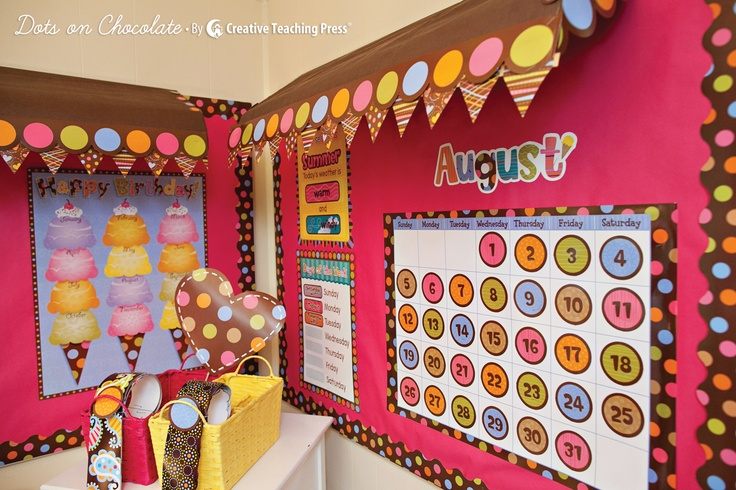 Tip: Create cardboard awnings over your bulletin boards to create a 3D effect!