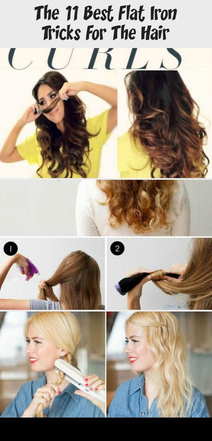 Most people think that flat irons only achieve sleek