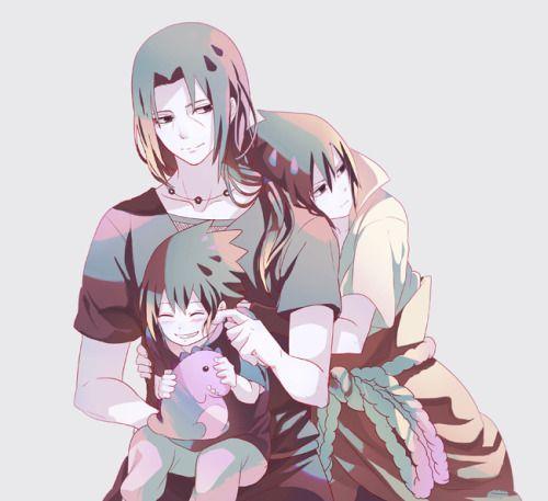 "Itachi and I share that same ""Give me Sasuke or give me death"" POV"
