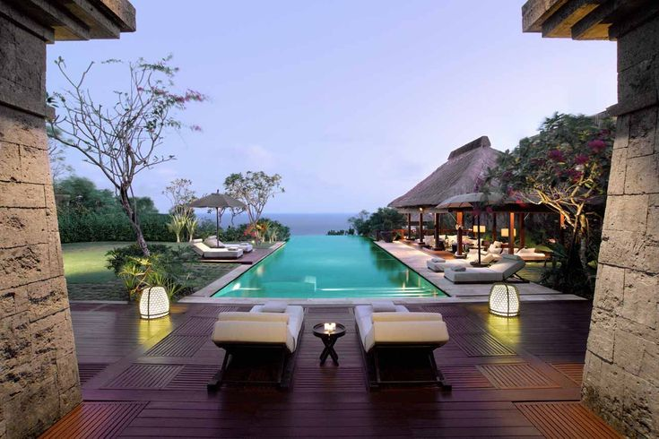 If you're looking for really luxury tropical getaways, choose Bulgari Hotels & Resorts Bali - a breathtaking combination between sophisticated design and nature.  http://www.e-njoy.us/luxury-tropical-getaways/
