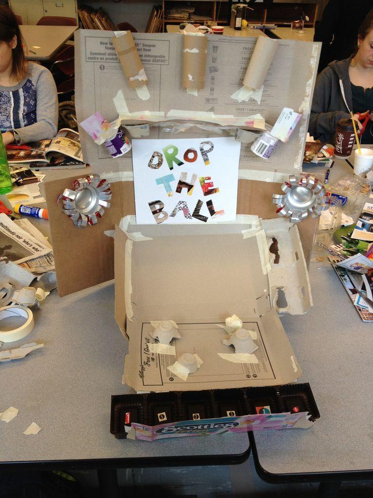 Edcp 301 Cardboard Challenge Create An Arcade Game Using