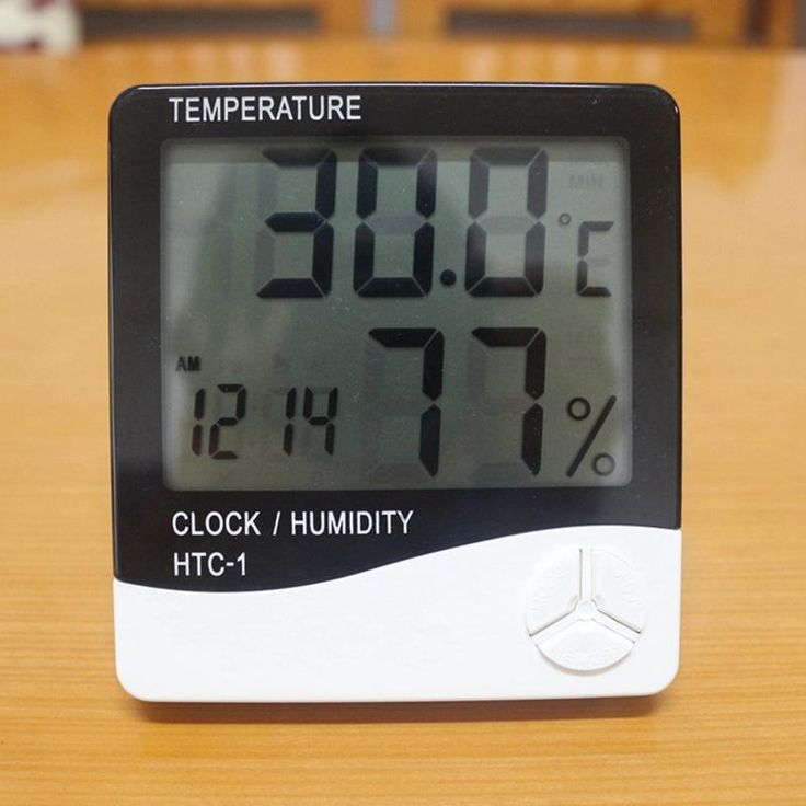 Digital Room LCD Thermometer