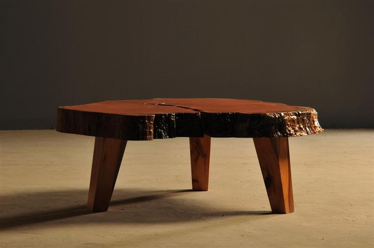 Live edge Boekenhout coffee table by Heartwood Furniture