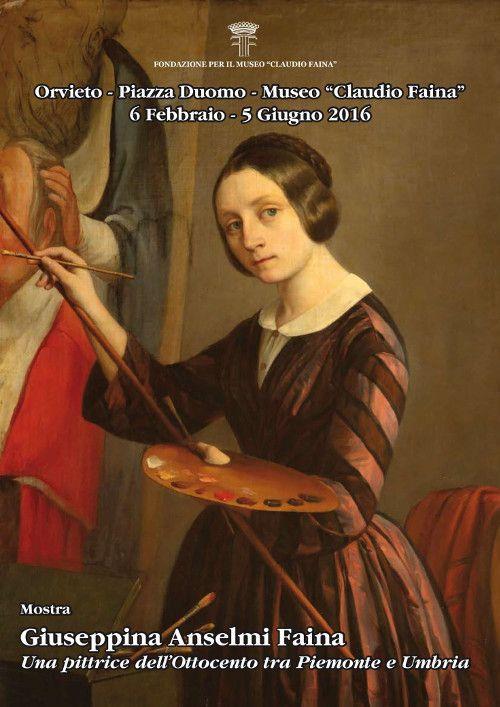 """Al Museo """"Claudio Faina"""" la mostra """"Giuseppina Anselmi Faina. Una pittrice dell'Ottocento tra Piemonte e Umbria"""""""