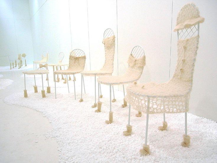 junya ishigami: picnic chairs for living divani. #designboom