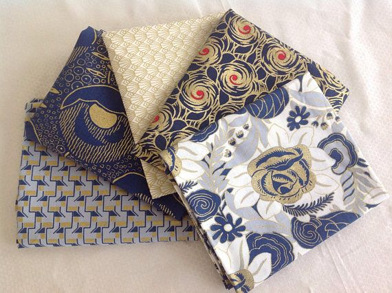 Charleston by Revive Collection five fat quarters