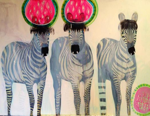 Water Mellon by Jessica Breakwell