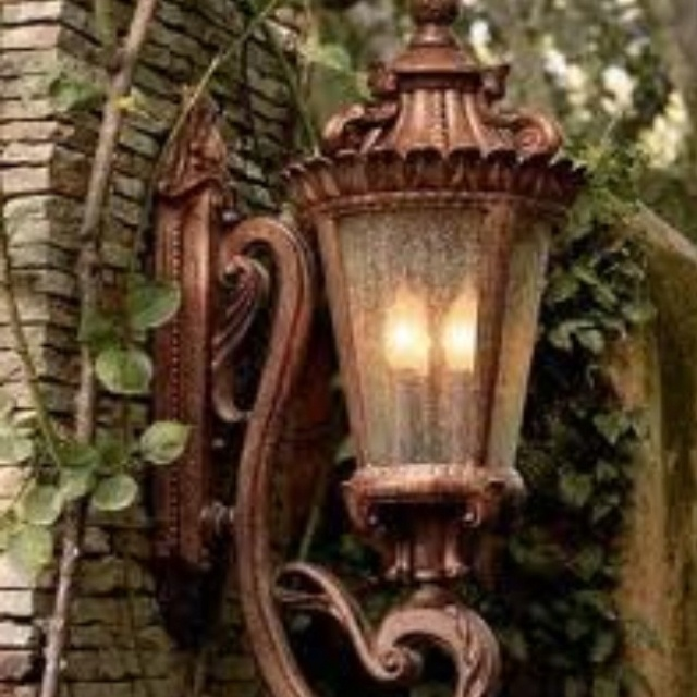 Tuscan style lighting i love it my home my sanctuary for Lanterne deco exterieur