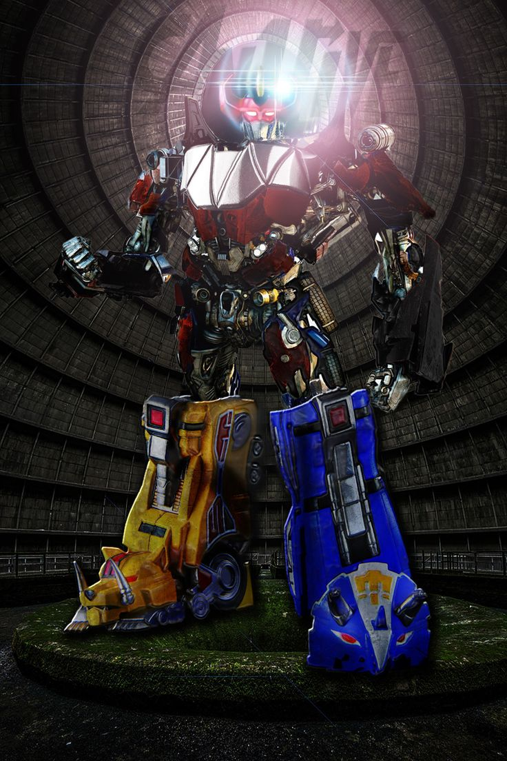 ArtStation - Power Rangers: Megazord Reimagining Concept ...