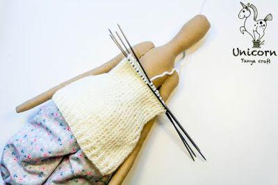 tejido medias y pulover tilda