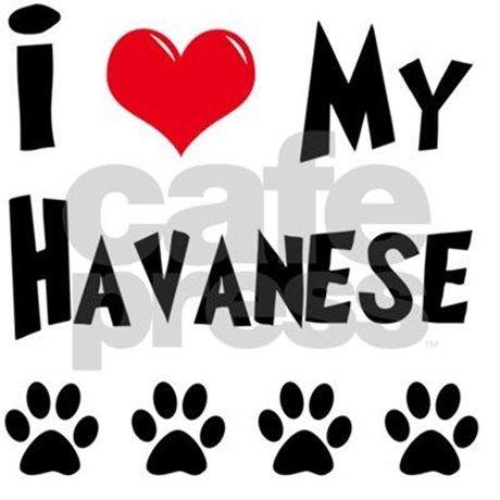 I-LOVE-MY-HAVANESE NECKLACE on Cafe Press