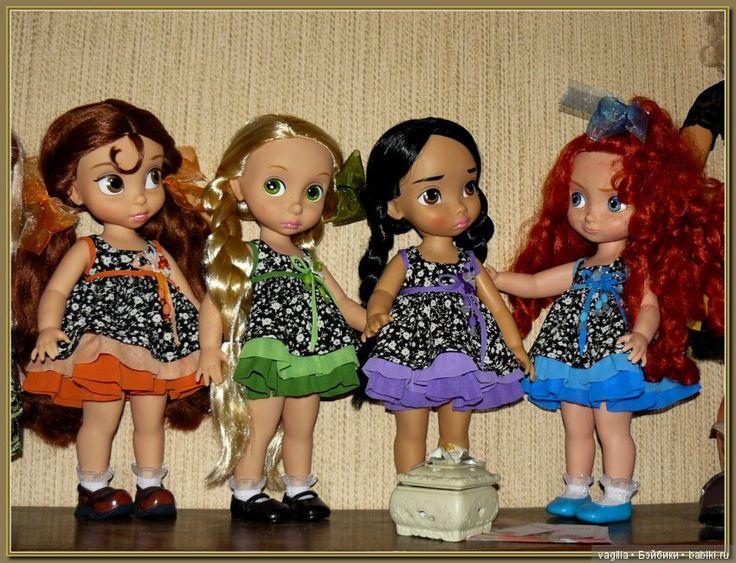 Как принцессы опоздали на бал / Куклы Принцессы Дисней, Disney Princess от Disney Animators / Бэйбики. Куклы фото. Одежда для кукол