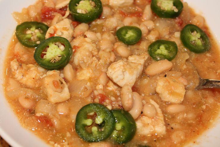 White Chicken Chili- A 24 Day Challenge friendly recipe