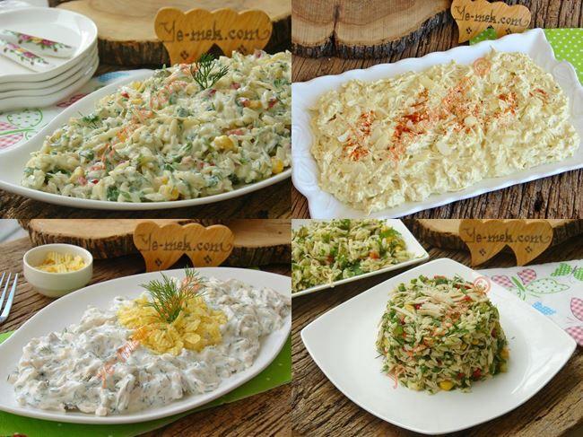 Tavuk İle Yapabileceğiniz Salata Tarifleri Resimli Tarifi - Yemek Tarifleri