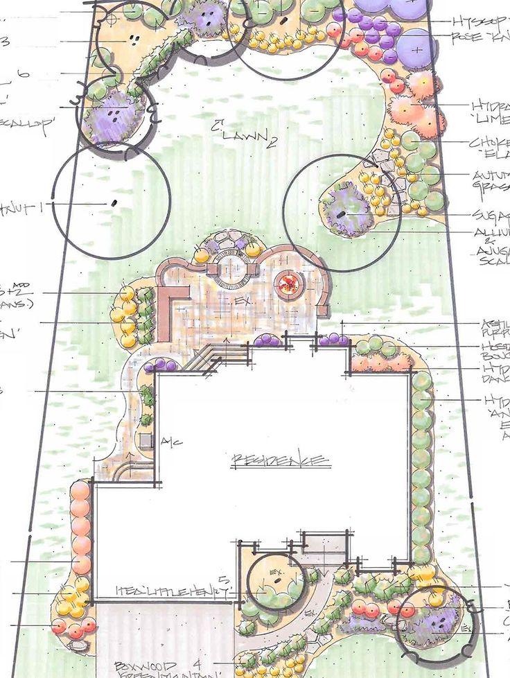 landscape designs hively landscaping - Living Gardens Landscape Design