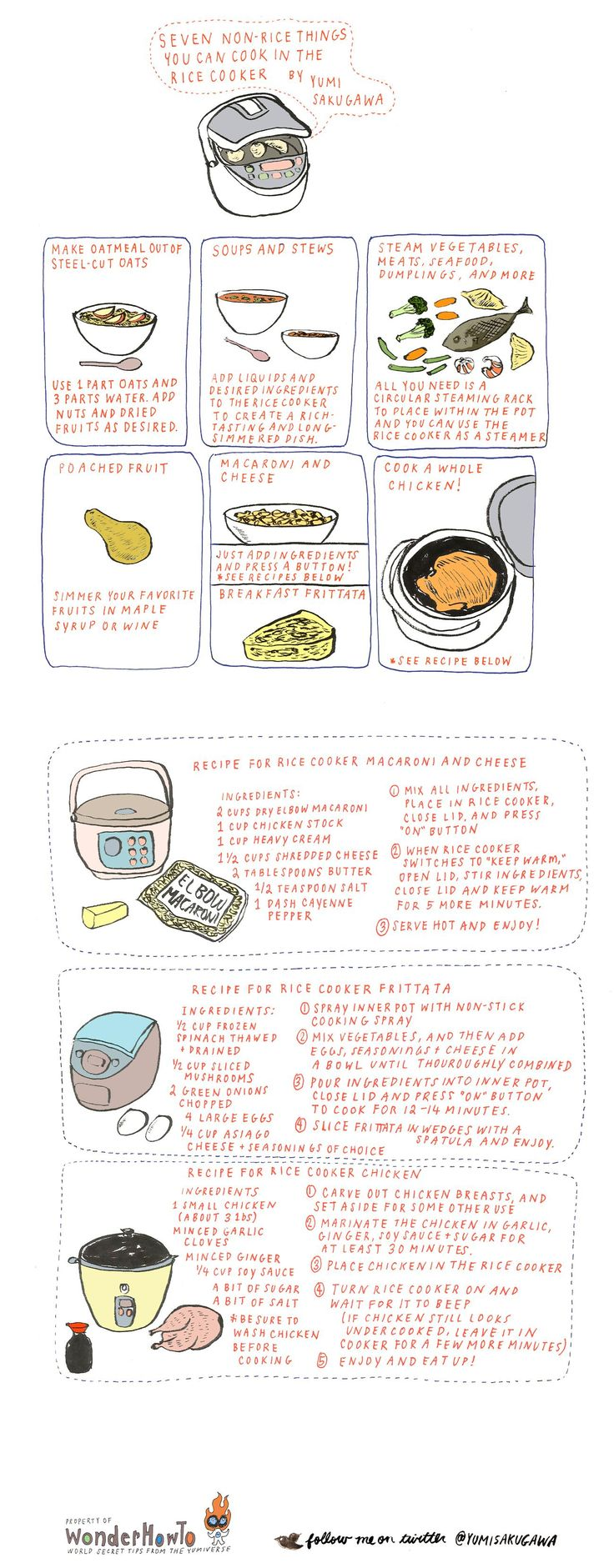 How To: 7 Nonrice Dishes You Can Cook In A Rice Cooker