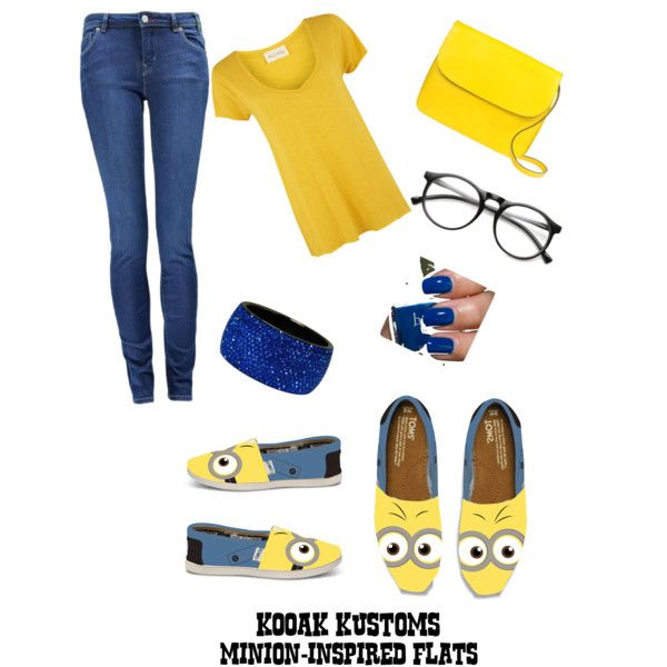 My minion outfit made by megan hehe fashion for Minion clothespins