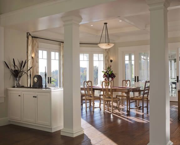how to put a beam in a load bearing wall