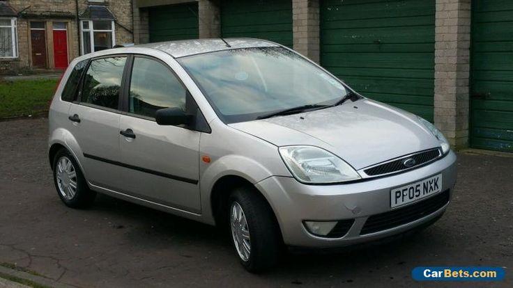 Ford Fiesta Ghia 2005 1.6 Silver #ford #fiestaghia #forsale #unitedkingdom