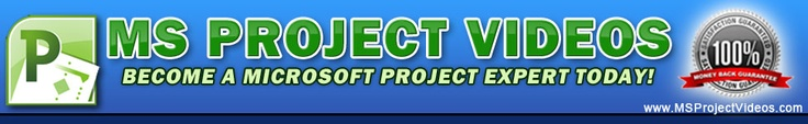 Microsoft Project 2010 Video Training Course.  MS Project 2010 Quickstart Training Course Has Sold To Customers All Over The World. Almost No Refunds, Users Have Instant Access To Streaming Video Training, Mp3 Audio Downloads And Vip Members Portal Access. Over 3 Hours Of Expert Instruction.  (Just click here).