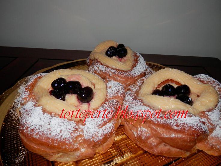 Torte per te: Zeppole di San Giuseppe