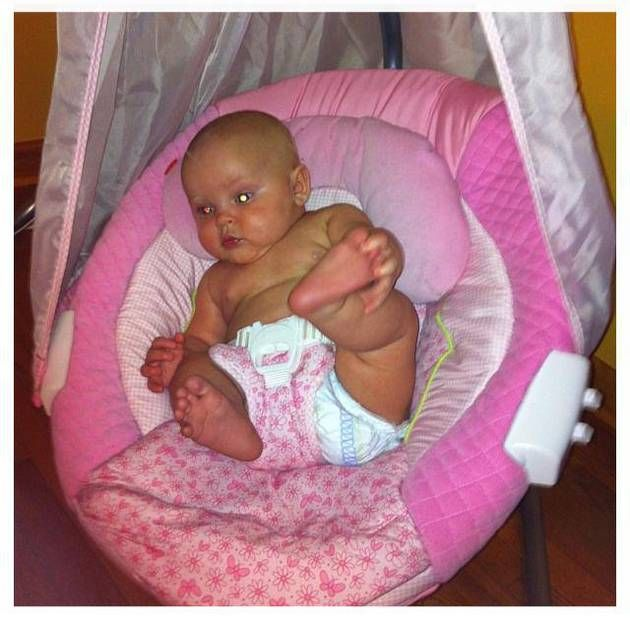 Leah Messer New Baby | Leah Messer and Jeremy Calvert's Daughter Adalynn Is a Happy Baby ...