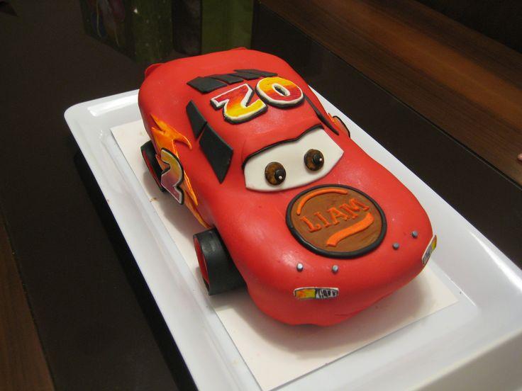 """Cars"" Inspired Custom Cake - Cocoabai Cakes (Ann Reardon Design)"