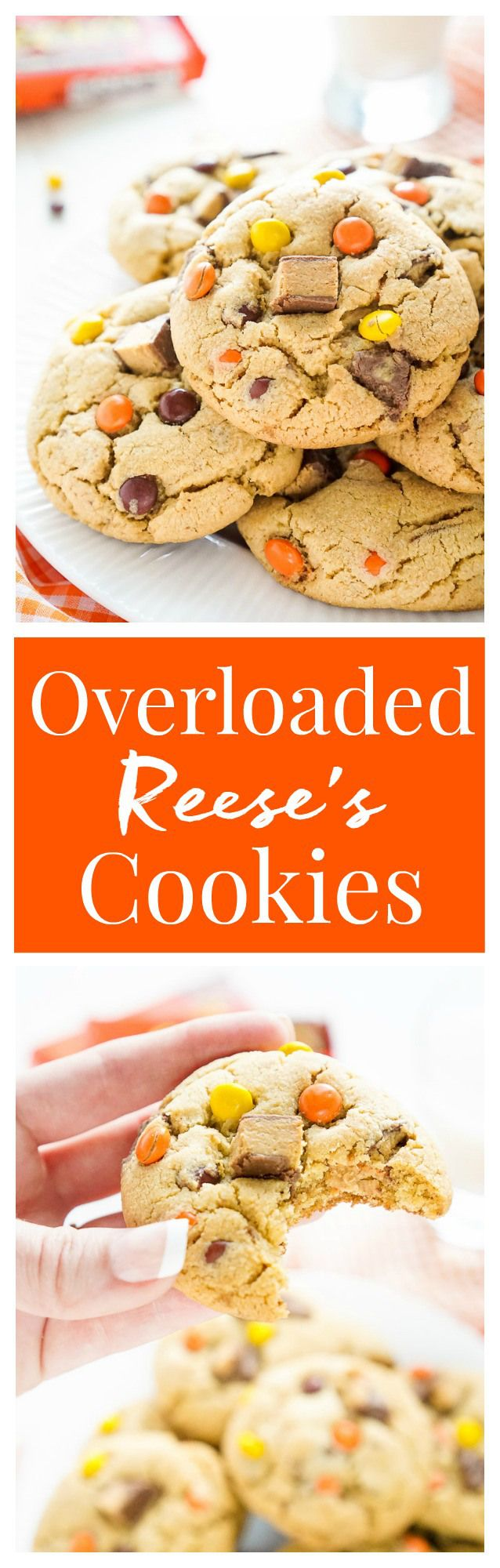 These Overloaded Reese's Peanut Butter Pudding Cookies are a sweet peanut butter…