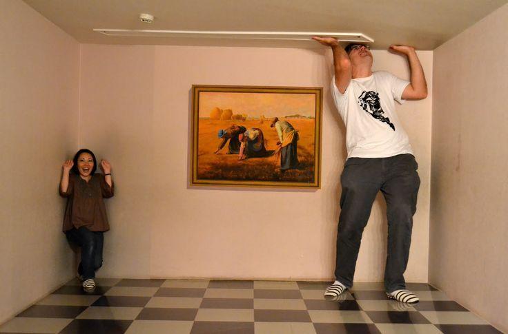 Takao Trick Art Museum - Weird Japan Weird Japan