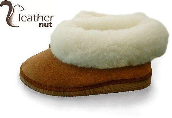 Handmade Luxury Ladies / Mens Sheepskin Slippers 100% by Luxforyou
