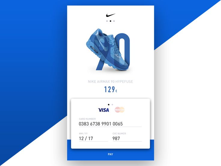 #002 DailyUI / Credit Card checkout