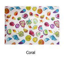 Estampado Coral Hule de tela resinada. Impermeable. Disponible en todos los productos Arethaju. www.arethaju.com #delantales, #hule, #mantelhule, #coral, #mar, #playa, #estrellas, #estrellasdemar, #conchas, #caracoles, #mantelcuadritos, #menú, #baberos, #pizarramantel, #cambiadoresplegables, #bolsascochecito, #bolsos, #neceseres, #carteras, #handmade, #diseñopersonalizado, #arethaju,