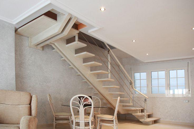 M s de 1000 ideas sobre barandillas de escalera en - Barandillas de hierro para escaleras ...